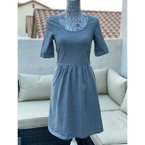 OLD NAVY JERSEY CASUAL SKATER DRESS XS